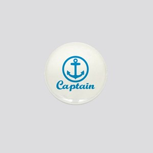 Anchor captain Mini Button