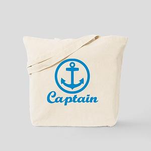 Anchor captain Tote Bag