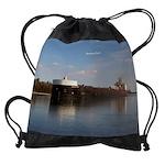 American Spirit Drawstring Bag