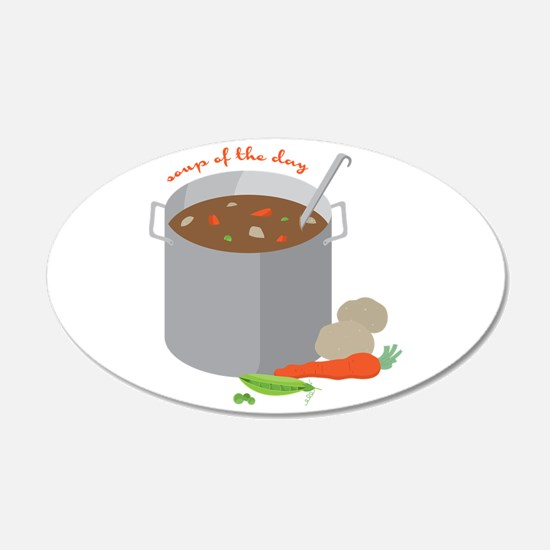 Soup Of Day Wall Decal