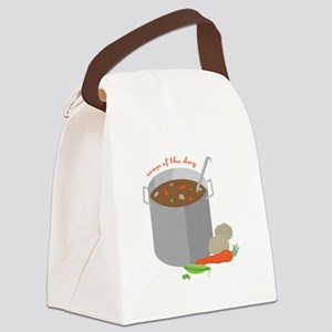 Soup Of Day Canvas Lunch Bag