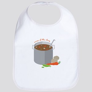 Soup Of Day Bib