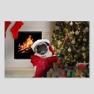 Pug Lust: Misha's Postcards (package Of 8)
