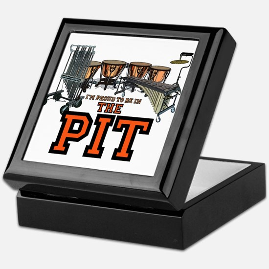 Proud to Be in The Pit Keepsake Box