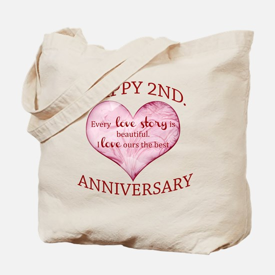 2nd. Anniversary Tote Bag