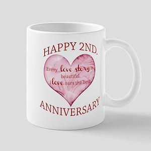 2nd. Anniversary Mug