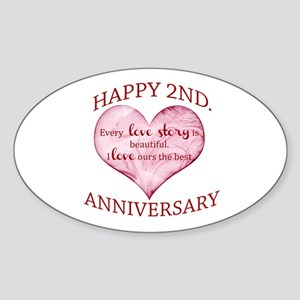 2nd. Anniversary Sticker