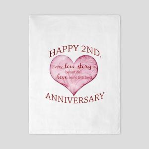 2nd. Anniversary Twin Duvet