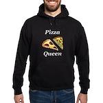 Pizza Queen Hoodie (dark)