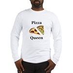 Pizza Queen Long Sleeve T-Shirt