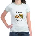 Pizza Queen Jr. Ringer T-Shirt