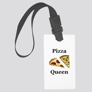 Pizza Queen Large Luggage Tag
