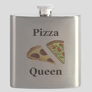 Pizza Queen Flask