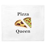 Pizza Queen King Duvet
