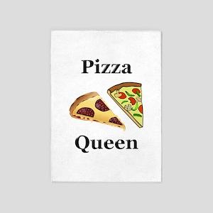 Pizza Queen 5'x7'Area Rug