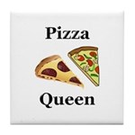 Pizza Queen Tile Coaster