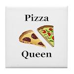 Pizza Queen Tile Coaster