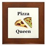 Pizza Queen Framed Tile