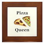 Pizza Queen Framed Tile