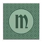 Living Waters Monogram Tile Coaster
