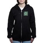 Living Waters Monogram Women's Zip Hoodie