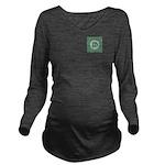 Living Waters Monogr Long Sleeve Maternity T-Shirt