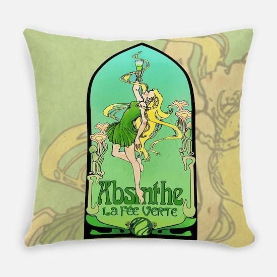 Absinthe Art Nouveau Master Pillow