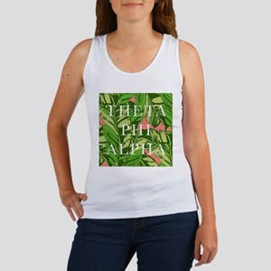 Theta Phi Alpha Banana Leaves Sq Women's Tank Top