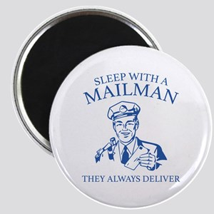 Sleep With A Mailman Magnet