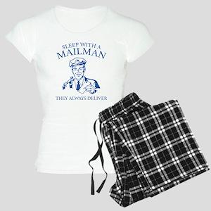 Sleep With A Mailman Women's Light Pajamas