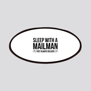Sleep With A Mailman Patches