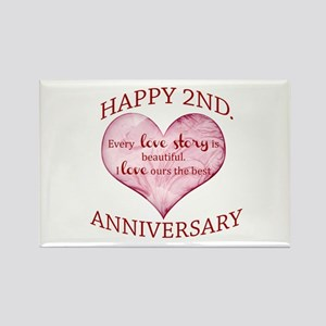 2nd. Anniversary Magnets
