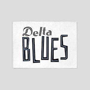Delta Blues 5'x7'Area Rug
