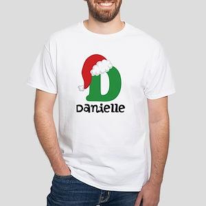 Christmas Santa Hat D Monogram T-Shirt