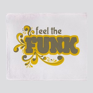 Feel the Funk Throw Blanket
