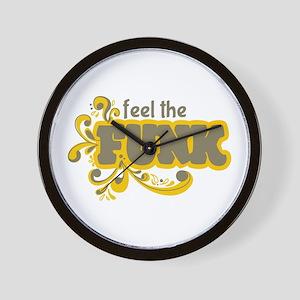 Feel the Funk Wall Clock