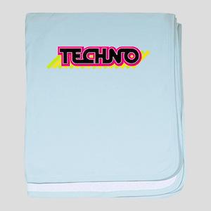 Techno baby blanket