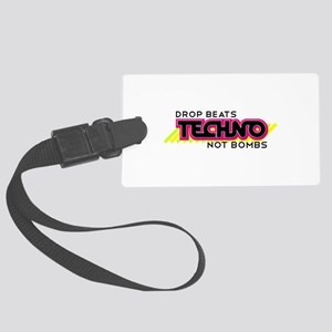 Beats Not Bombs Luggage Tag