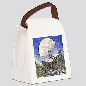 Trophy mule deer buck Canvas Lunch Bag