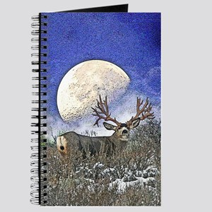 Trophy mule deer buck Journal