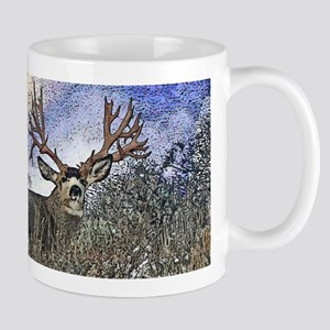 Trophy mule deer buck Mug