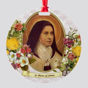 St. Therese Little Flower Ornament