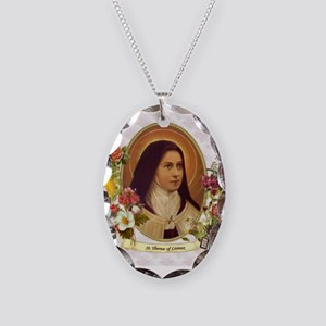 St. Therese Little Flower Necklace