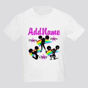 CHEERING GIRL Kids Light T-Shirt