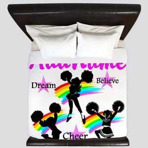 CHEERING GIRL King Duvet