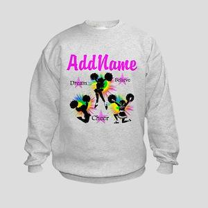 CHEERING GIRL Kids Sweatshirt