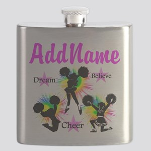 CHEERING GIRL Flask