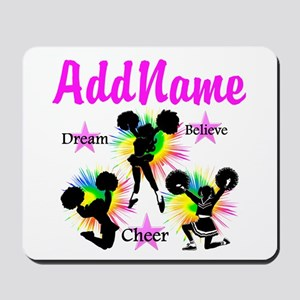 CHEERING GIRL Mousepad