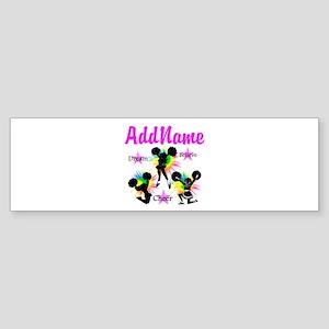 CHEERING GIRL Sticker (Bumper)