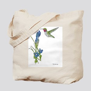 Rocky Mountain Hummer Tote Bag